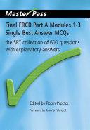Final Fr Pt A Modules 1-3 Single Best an