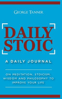 Daily Stoic - Hardcover Version