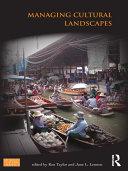 Managing Cultural Landscapes