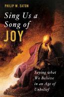 Sing Us a Song of Joy [Pdf/ePub] eBook