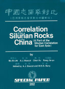 Correlation of the Silurian rocks of China