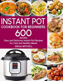 Instant Pot Cookbook For Beginners Book PDF