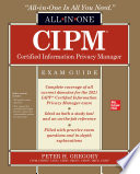 CIPM Certified Information Privacy Manager All in One Exam Guide Book