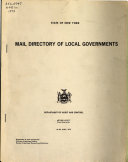 Mail Directory of Local Governments