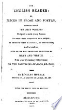 The English Reader, Or Pieces in Prose and Poetry