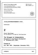 The Struggle for Independence  Doc  900 1050  September December 1979
