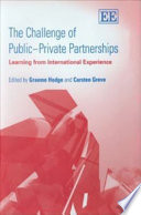 The Challenge Of Public Private Partnerships Book PDF