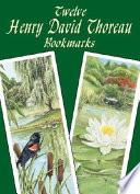 Twelve Henry David Thoreau Bookmarks Book PDF