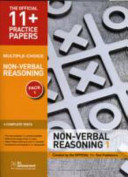 11+ Practice Papers, Non-verbal Reasoning Pack 1, Multiple Choice