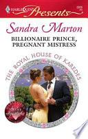 Billionaire Prince  Pregnant Mistress Book PDF