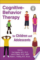 Cognitive Behavior Therapy for Children and Adolescents Book