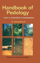 Handbook of Pedology