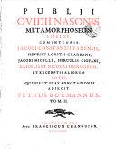 Publii Ovidii Nasonis Opera omnia