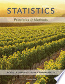 """Statistics: Principles and Methods"" by Richard A. Johnson"
