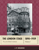 The London Stage 1890-1959 Pdf/ePub eBook