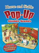 Horse and Stable Pop Up Sticker Scenes