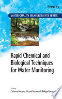 Rapid Chemical and Biological Techniques for Water Monitoring Book