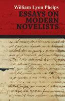 Essays on Modern Novelists