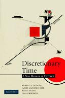 Discretionary Time