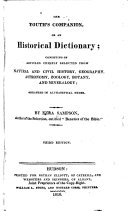The Youth's Companion, Or, An Historical Dictionary