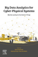 link to Big data analytics for cyber-physical systems : machine learning for the Internet of things in the TCC library catalog