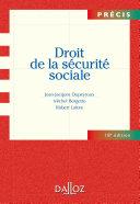 Pdf Droit de la sécurité sociale Telecharger