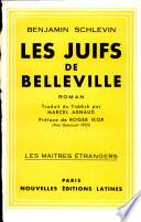 Les juifs de Belleville