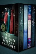 The Charlotte Anthony Mysteries Box Set  Books 1 4