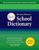 Merriam Webster s School Dictionary