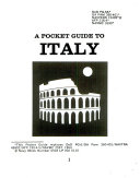 A Pocket Guide to Italy