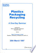 Plastics Packaging Recycling