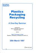 Plastics Packaging Recycling