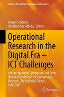Operational Research in the Digital Era — ICT Challenges