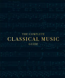 The Complete Classical Music Guide Pdf/ePub eBook