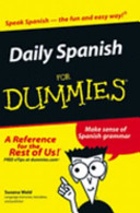 Daily Spanish for Dummies  Target One Spot Edition