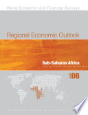 Regional Economic Outlook  April 2008  Sub Saharan Africa