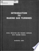 Introduction to Marine Gas Turbines