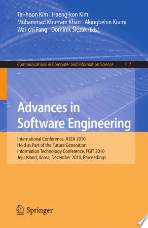 Download Advances in Software Engineering Free Books - manybooks-pdf