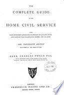 The Complete Guide to the Home Civil Service