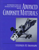 Introduction to Design and Analysis with Advanced Composite Materials