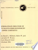 Stress Strain Behavior Of Tungsten Fiber Reinforced Copper Composites Book PDF