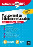Pdf Le Volum' BTS - MHR - Management de l'hôtellerie-restauration - Révision et entraînement Telecharger