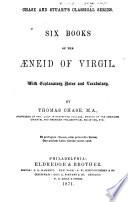Six books of the Æneid of Virgil