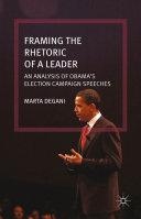 Framing the Rhetoric of a Leader Pdf/ePub eBook