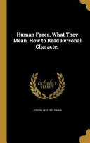HUMAN FACES WHAT THEY MEAN HT