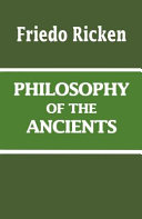 Philosophy of the ancients