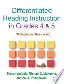 """""""Differentiated Reading Instruction: Strategies for the Primary Grades"""" by Sharon Walpole, Michael C. McKenna"""