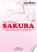 Proceedings of SAKURA Symposium on Mechanical Science and Engineering 2017