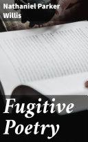 Fugitive Poetry Pdf