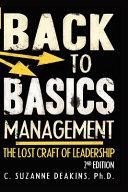 Back to Basics Management